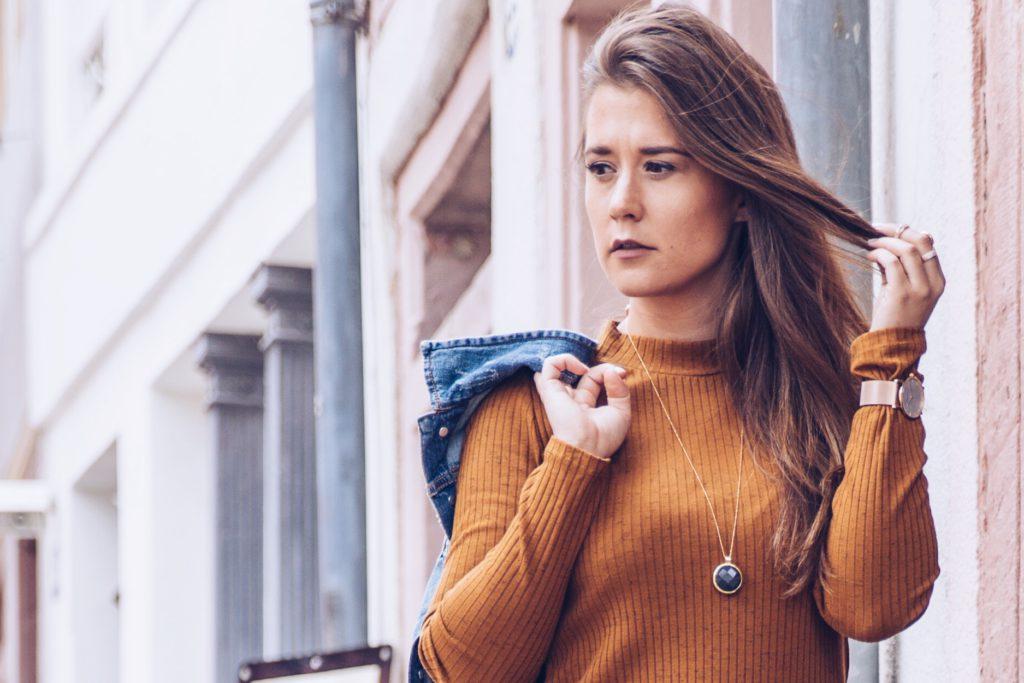 Jerseykleid und Jeansjacke – Summerbreak